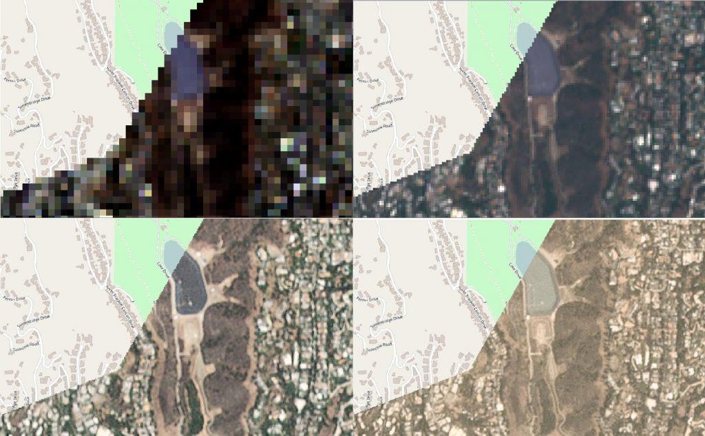 EO, Landsat 8, Sentinel2, RapidEye, Planet